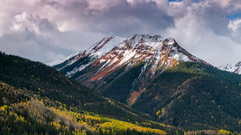 Brown Mountain, San Juan range, CO by Wade Shanley