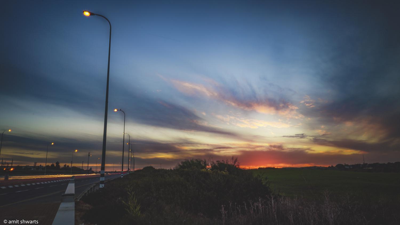 Sunset by Amit Shwarts