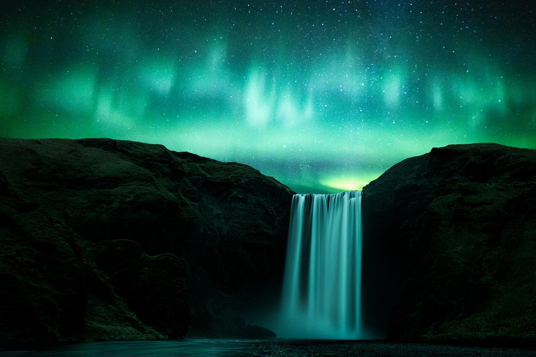 First Aurora by Brian Lichtenstein