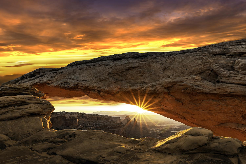 Morning at Mesa by Mike Yackulic
