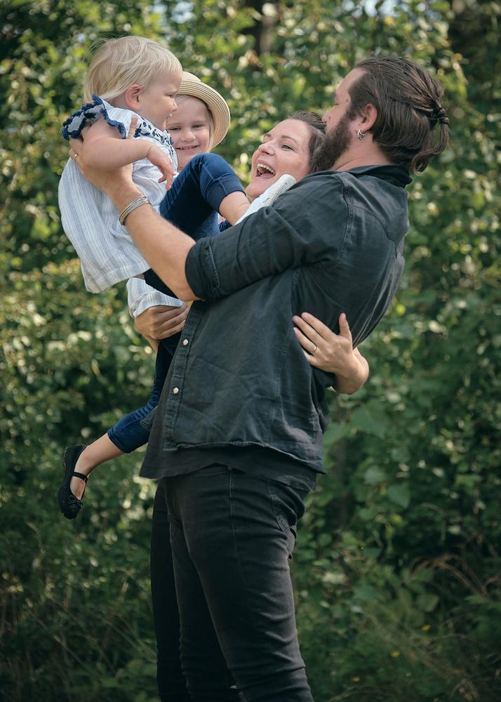 Happy family by Mathias Kilman