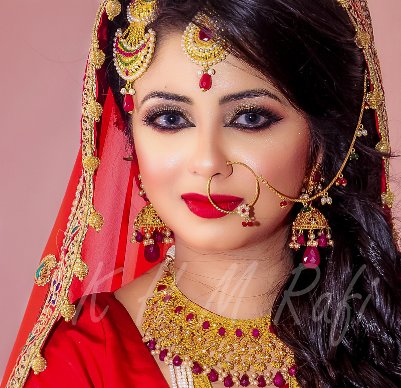 Beautiful bride by Rafi Khan