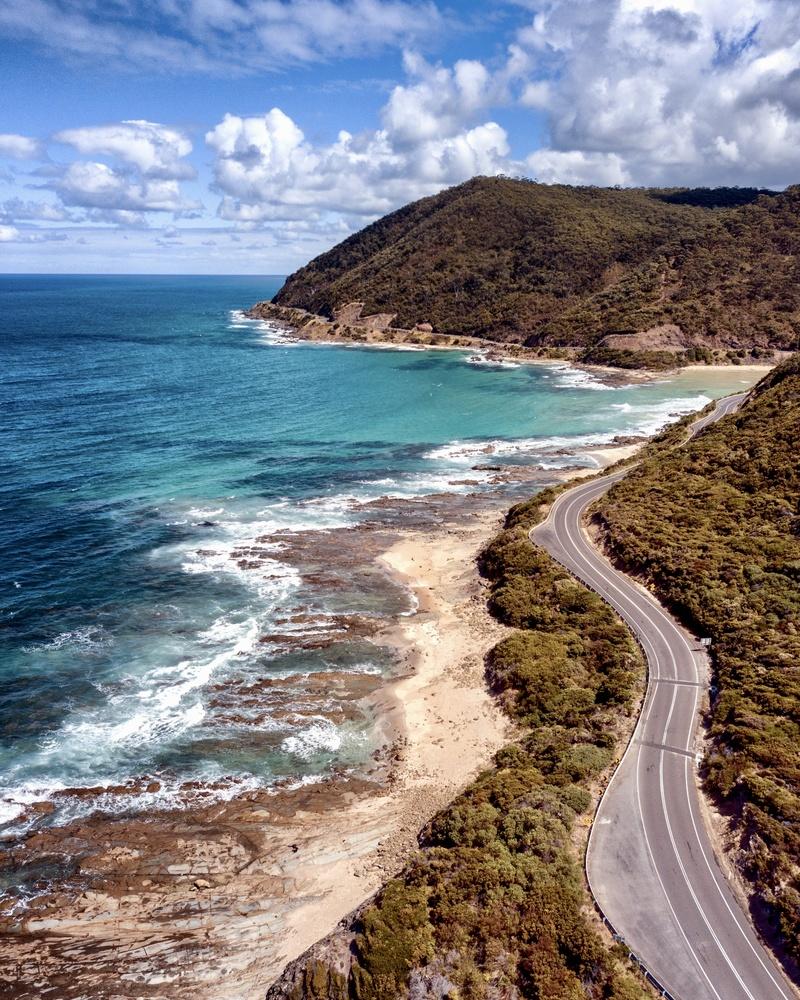 The Great Ocean Road by Ashley Craig