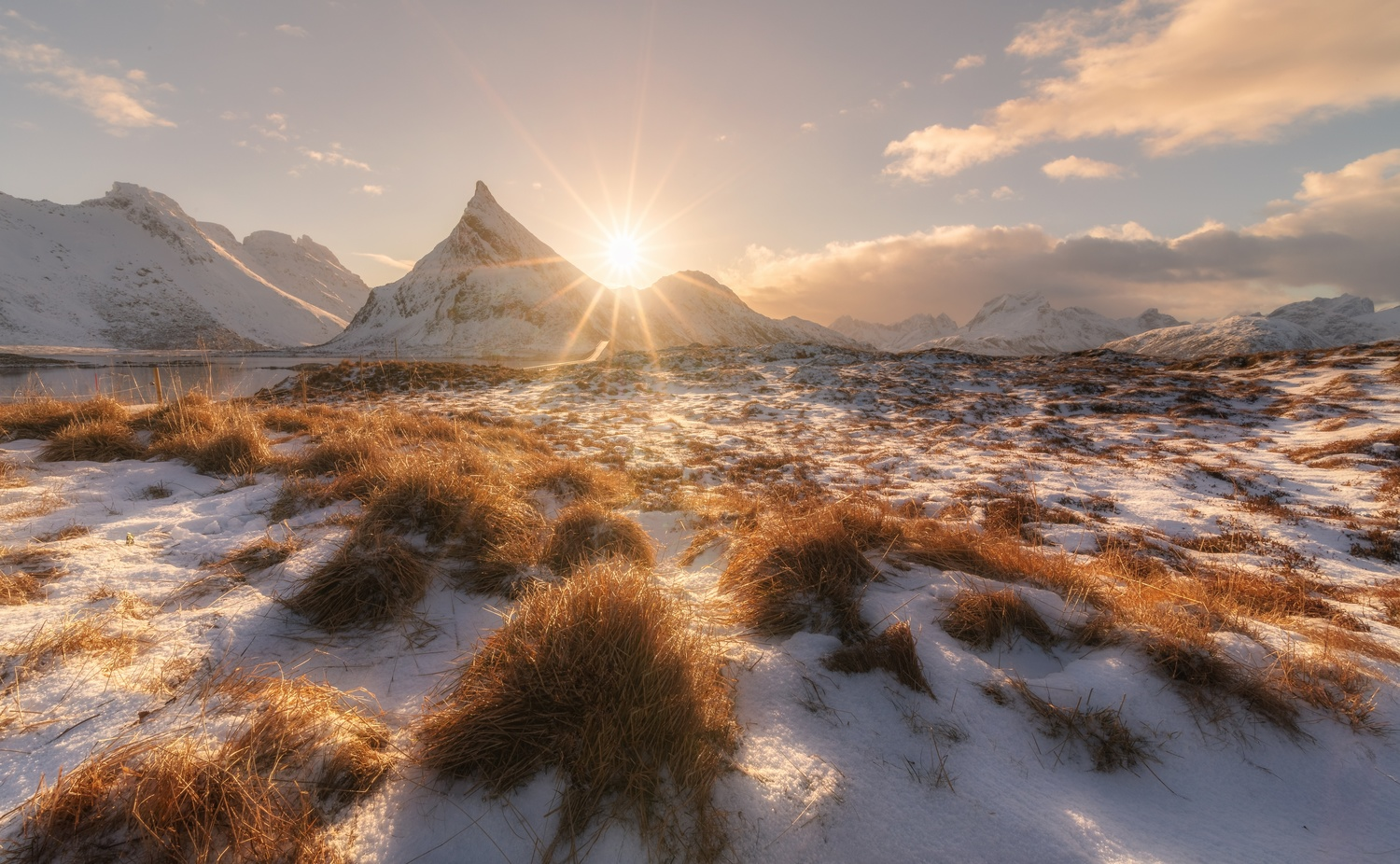 Winter Sun. by Richard Beresford Harris