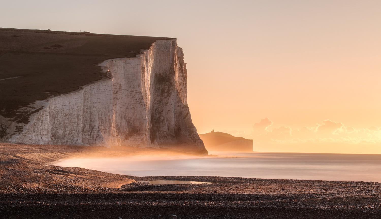 Seven Sister Cliffs by Richard Beresford Harris