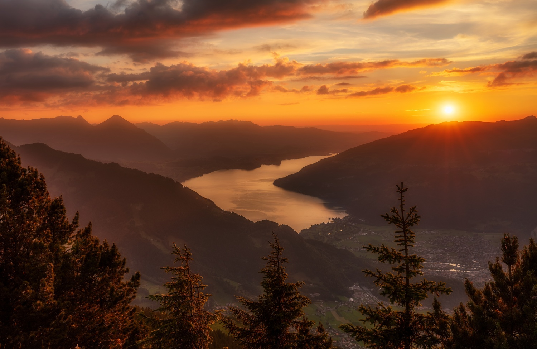 Interlaken by Richard Beresford Harris