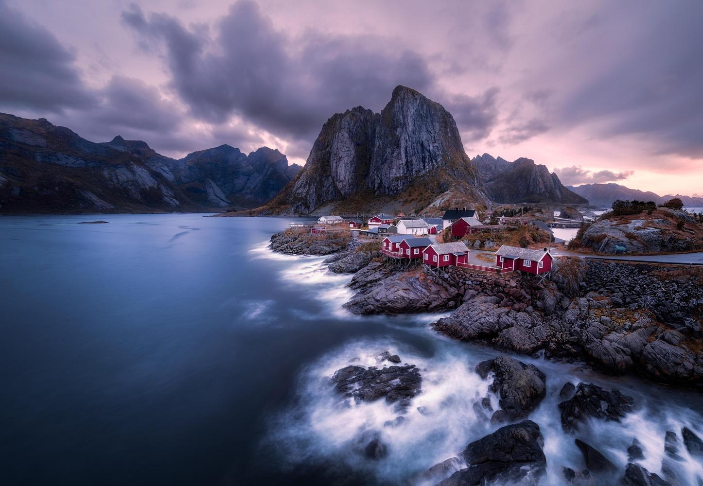 Hamnøy by Richard Beresford Harris