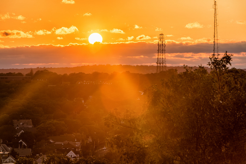 Suburban Sunset by Mark Brennan