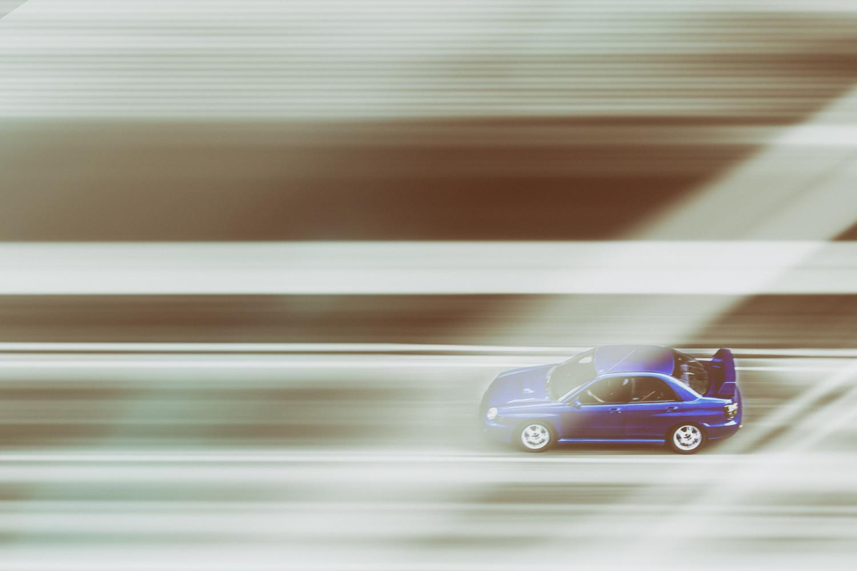 Speeding Car by Mark Brennan