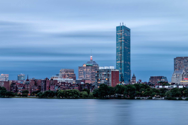 Boston Skyline by Mark Brennan