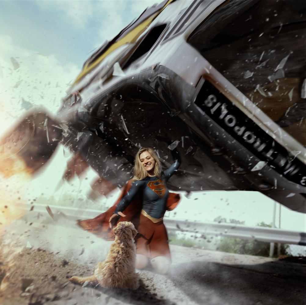 Supergirl 3 by David Audelo, Jr.