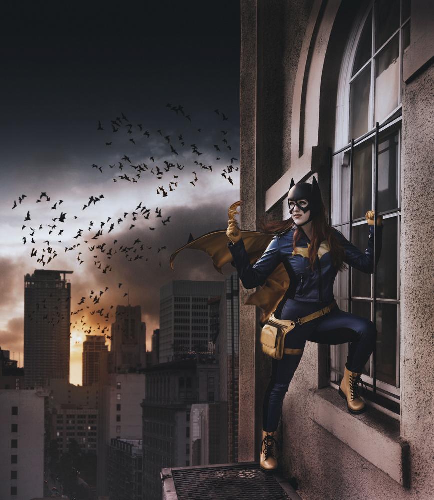 Batgirl 2 by David Audelo, Jr.