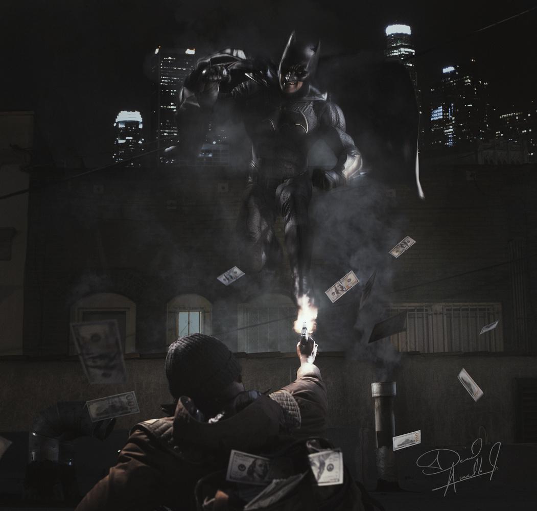 The Batman's real. by David Audelo, Jr.