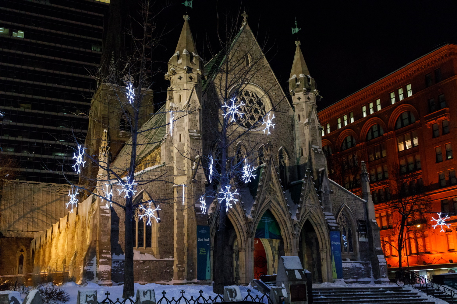Montreal Christmas by Gerry Hammarth