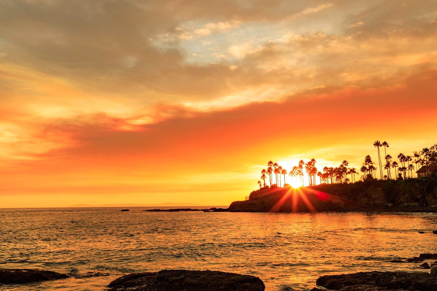 Laguna Beach Sunset 7 by Gerry Hammarth