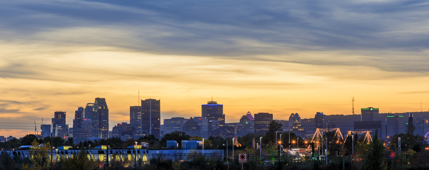 Montreal Sunset by Gerry Hammarth