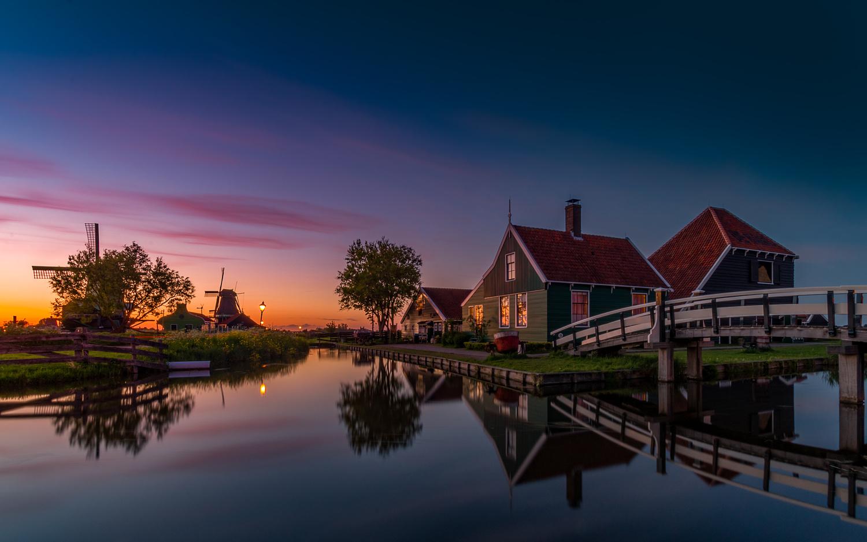 Zaanse Schans by Remco Piet