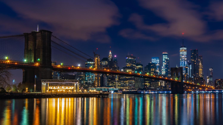 Manhattan Bridge by Remco Piet