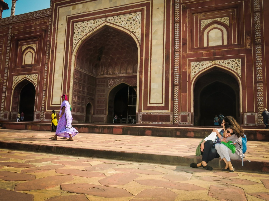 Caught in India  by Armando Solis