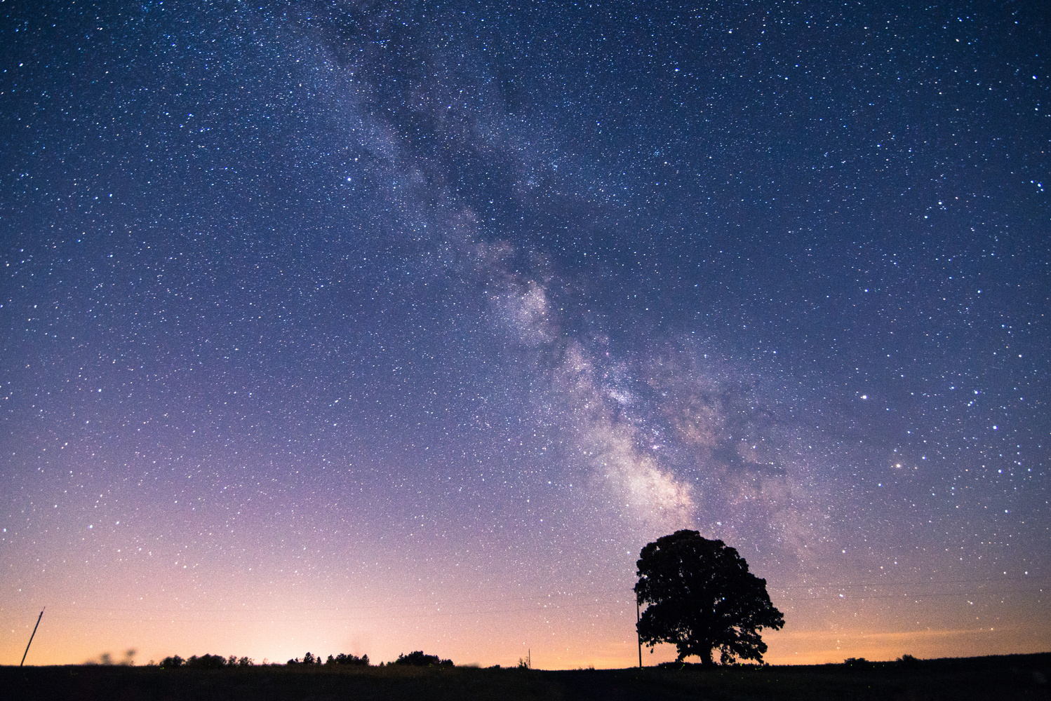 The Milky Way by jason stuempges