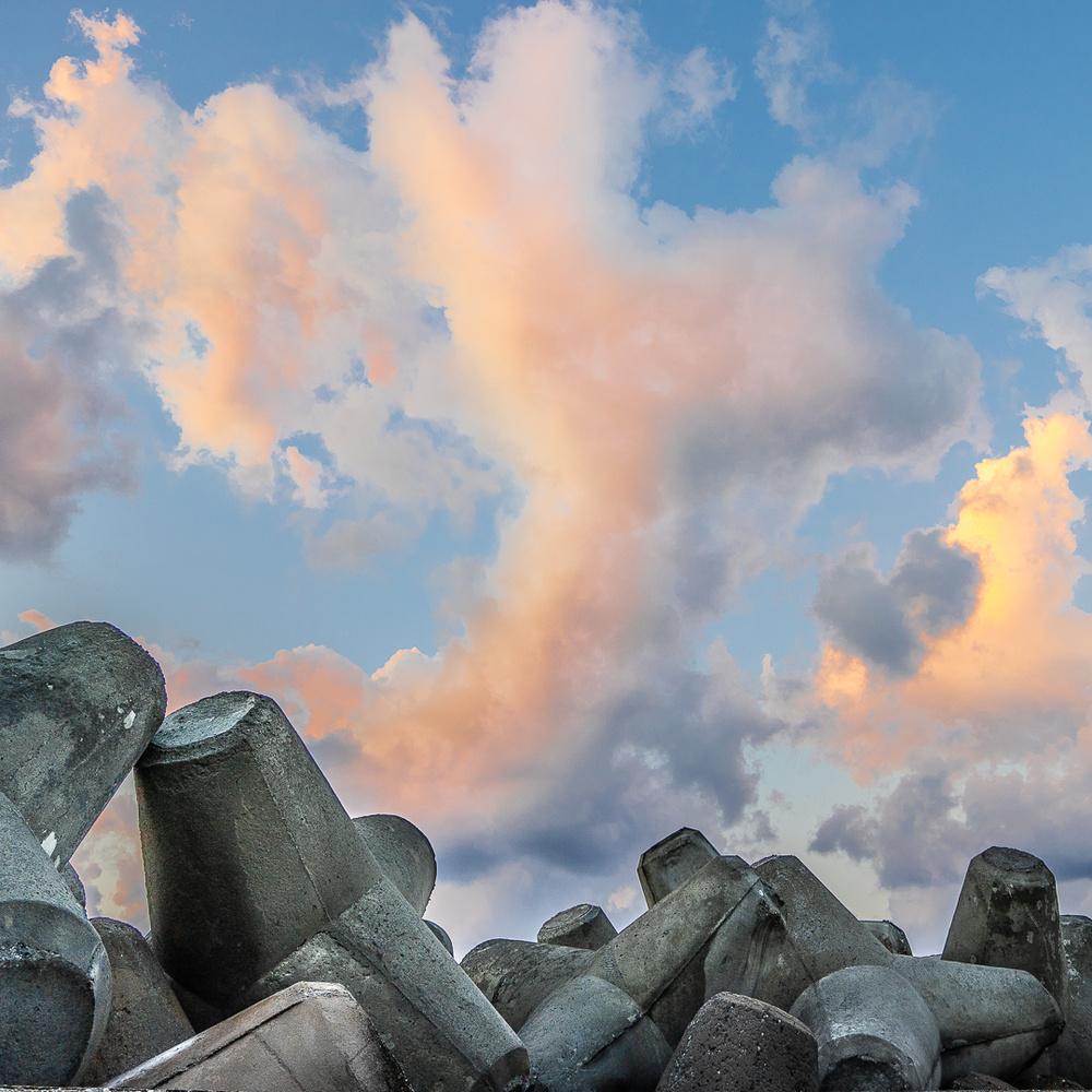 Cretan sky by Sebastien Sepheriades