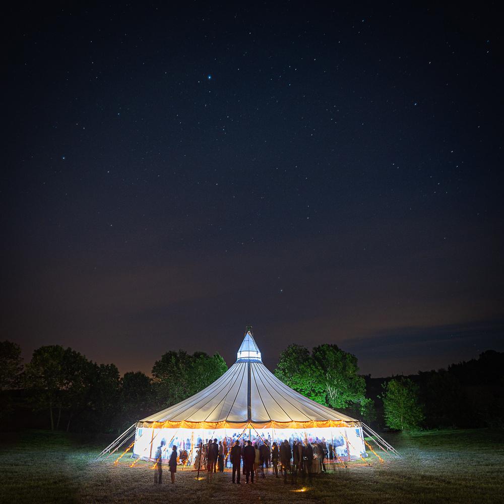 Star Tent by Sebastien Sepheriades