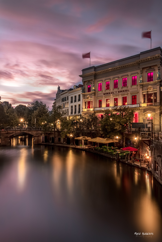 Utrecht canals by Mike Huberts
