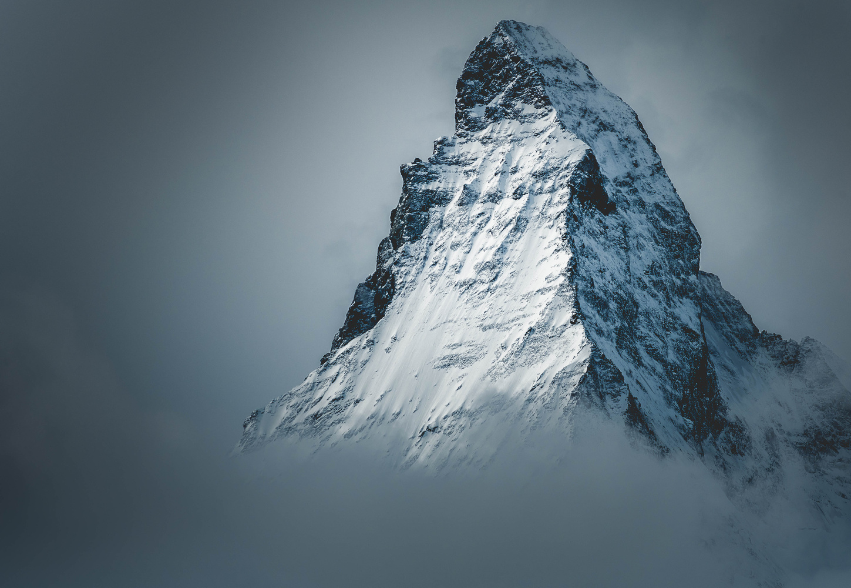 Matterhorn in the fog by Joel V
