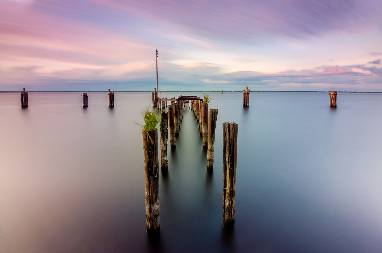 Lake Monroe Docks by James Marro