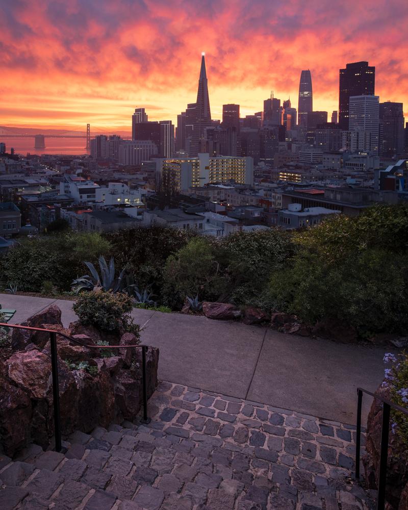 Christmas morning sunrise by Ryan Fitzsimons