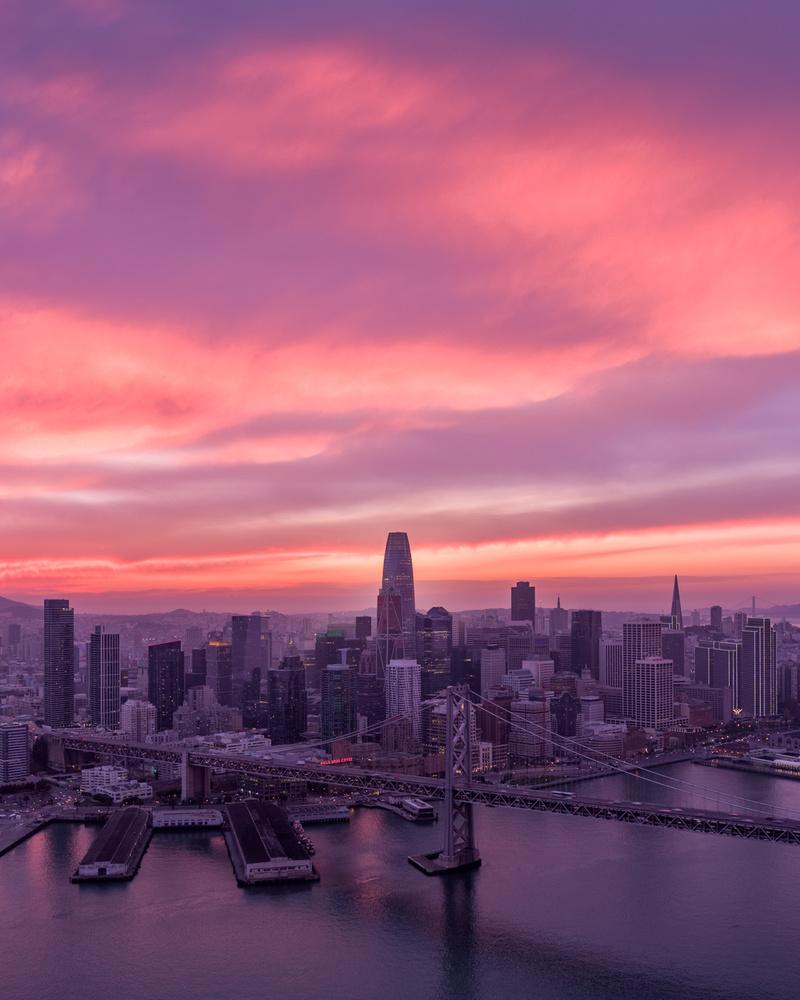 SF Sunset by Ryan Fitzsimons