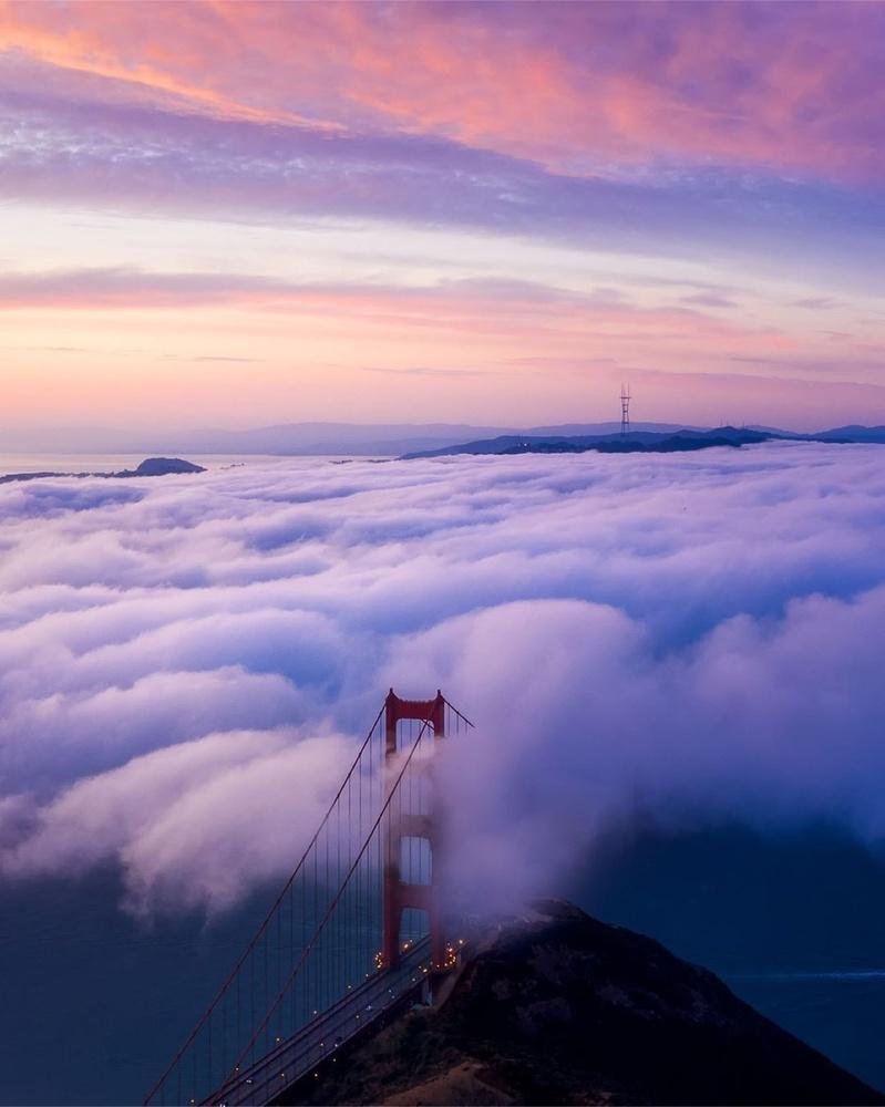 Blanket of fog by Ryan Fitzsimons