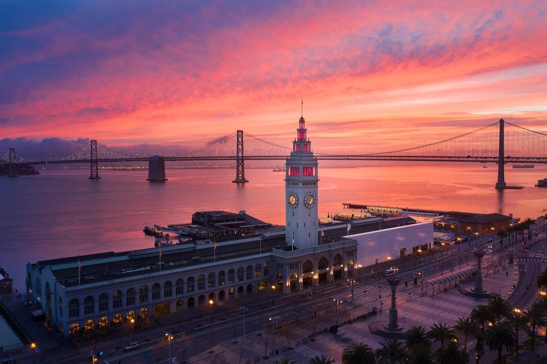 Ferry Building, San Francisco by Ryan Fitzsimons