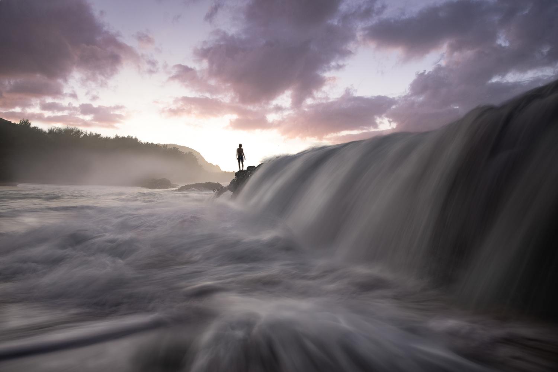Kauai sunset by Ryan Fitzsimons