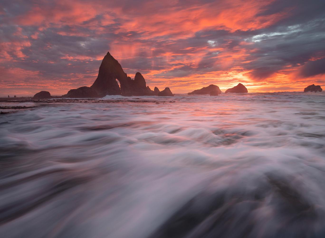Half Moon Bay Sunset by Ryan Fitzsimons