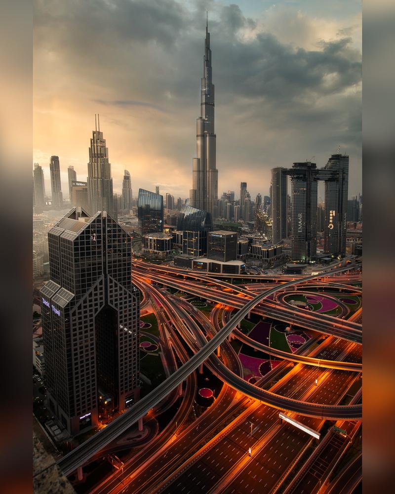Dubai Sunrise by Ryan Fitzsimons