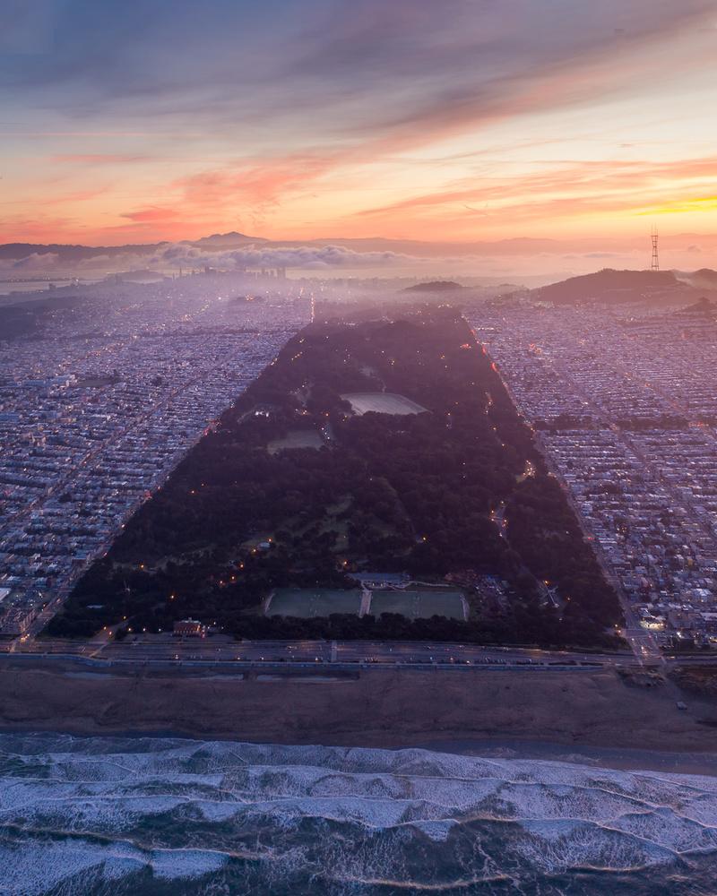 Golden Gate Park by Ryan Fitzsimons