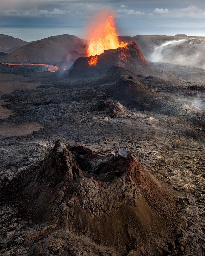 Fagradalsfjall volcano by Ryan Fitzsimons