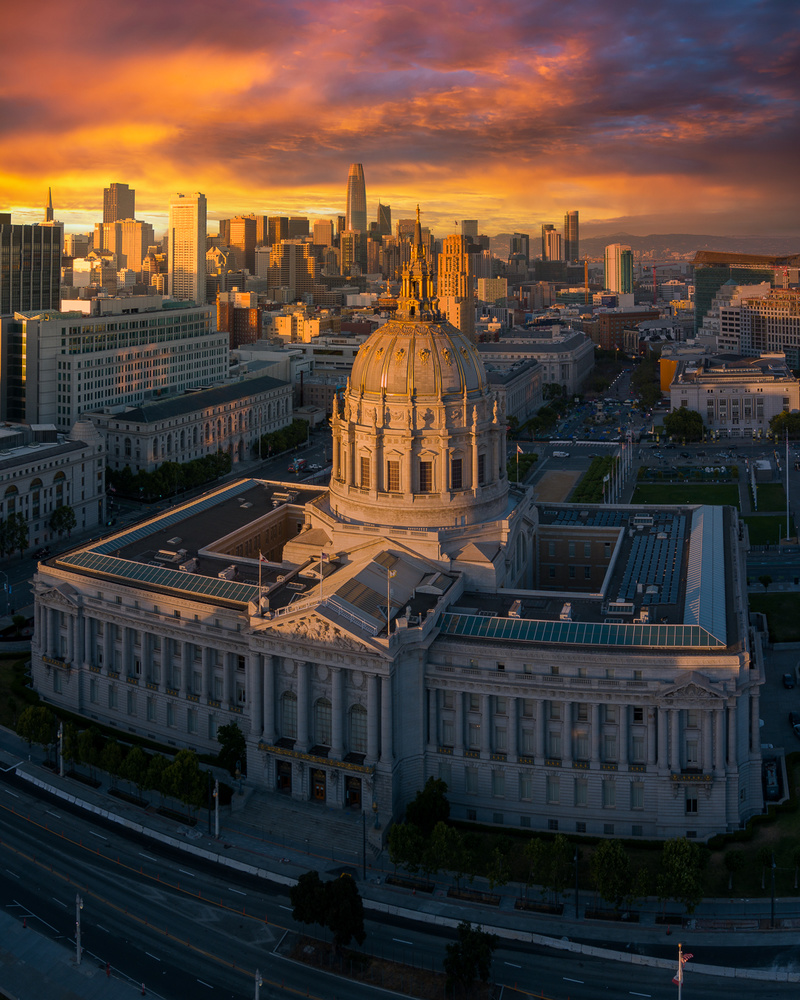 San Francisco City Hall by Ryan Fitzsimons