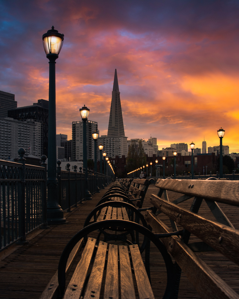 Pier 7 Sunset by Ryan Fitzsimons