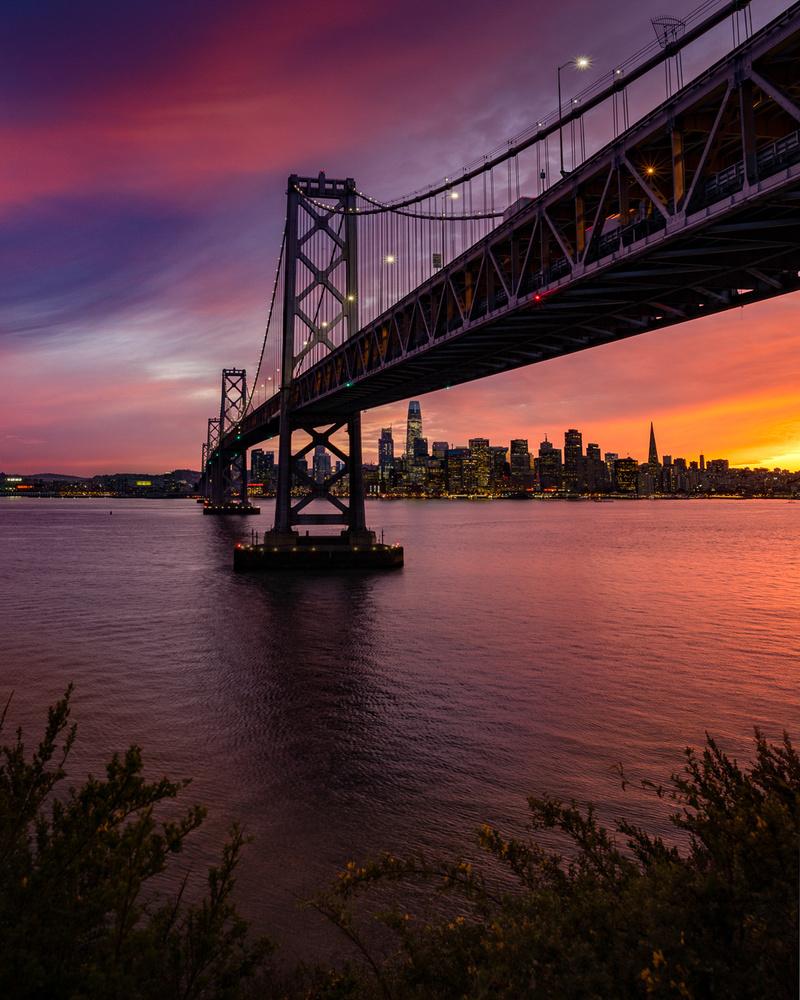 Treasure Island Sunset by Ryan Fitzsimons