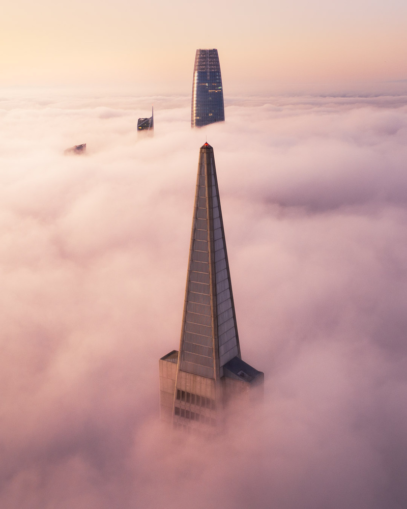 Way above the Fog by Ryan Fitzsimons