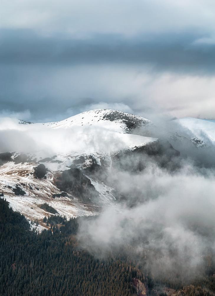 Mystic mountain by Tiberiu Scarlat