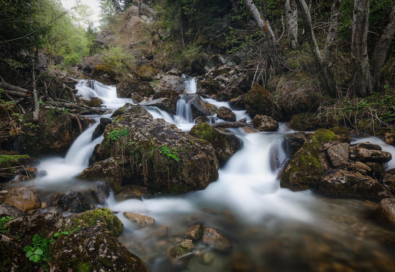 Small river rush by Tiberiu Scarlat