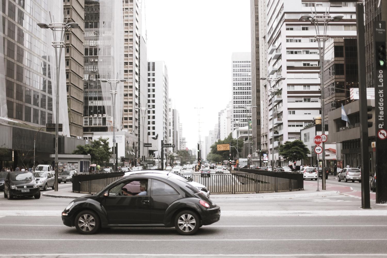 Paulista Avenue by Luiz Cipriano