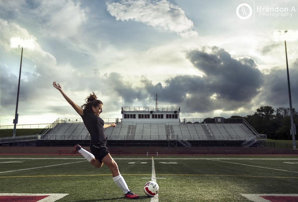 Sunset Soccer by Brandon Adam
