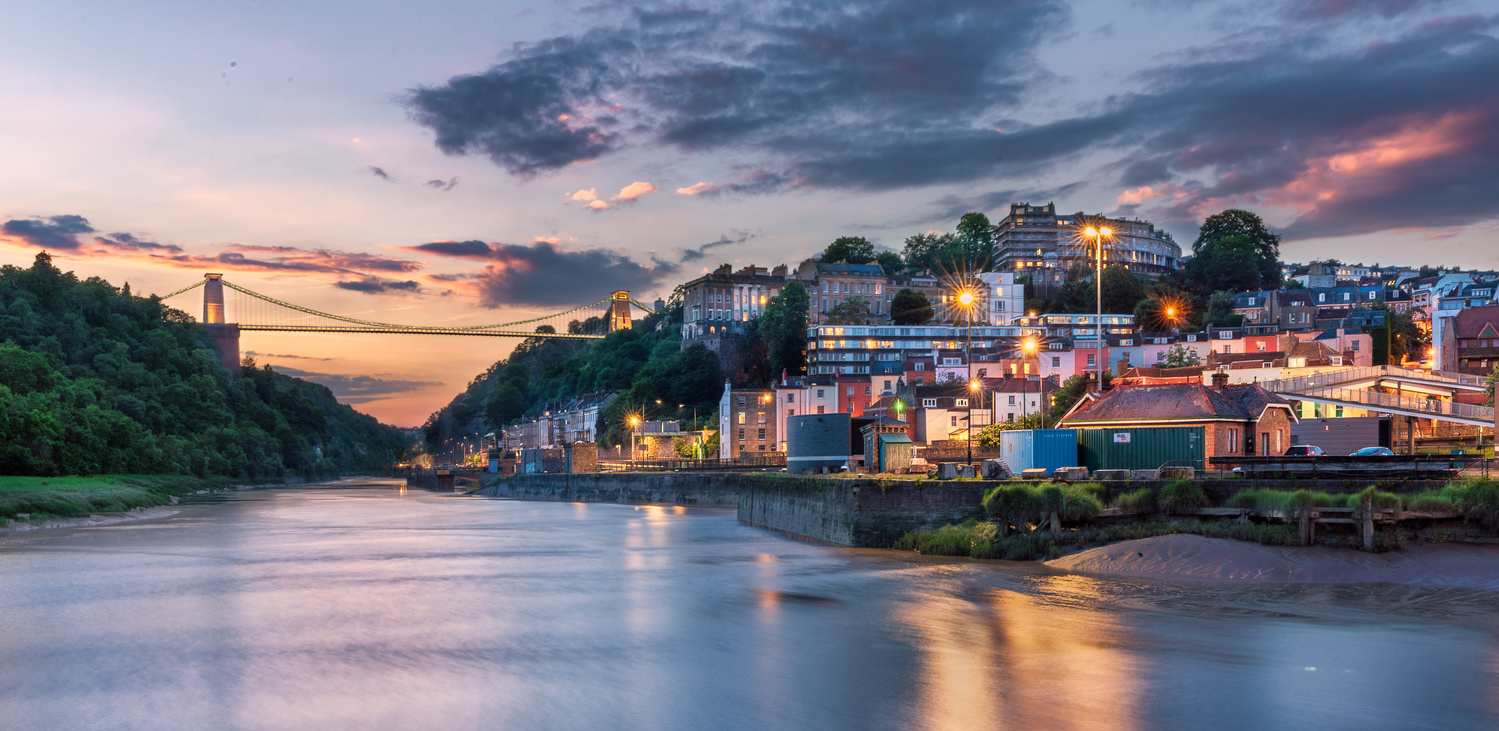Sunset in Clifton by Thijs Spuijbroek