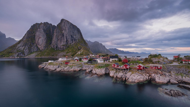 Beautiful Hamnøy by Thijs Spuijbroek