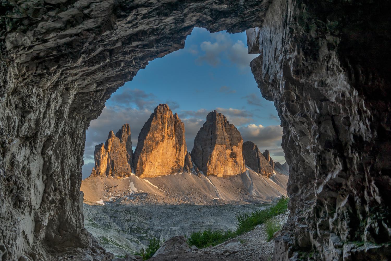 Tre Cime di Lavaredo by Ralf von Samson