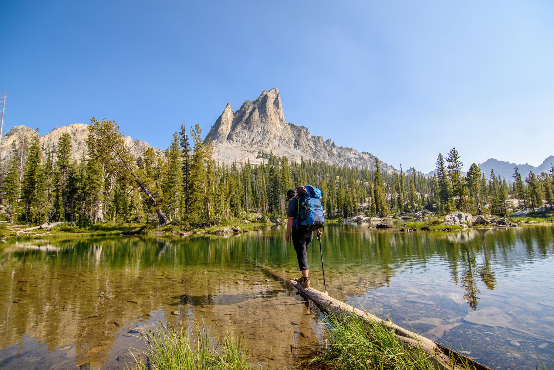 Hiking Below El Capitan  by Kyle Rosenmeyer